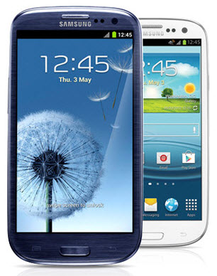 By hiding its hardware buttons, the Galaxy SIII gets an iPhone-like feel.