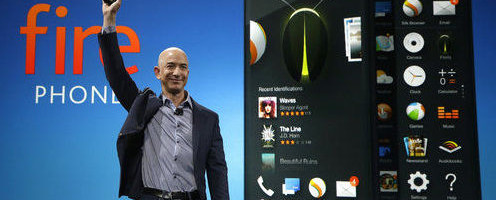 Fanfare as Bezos intros Kindle Fire phone. Firefly feature is cool & useful.