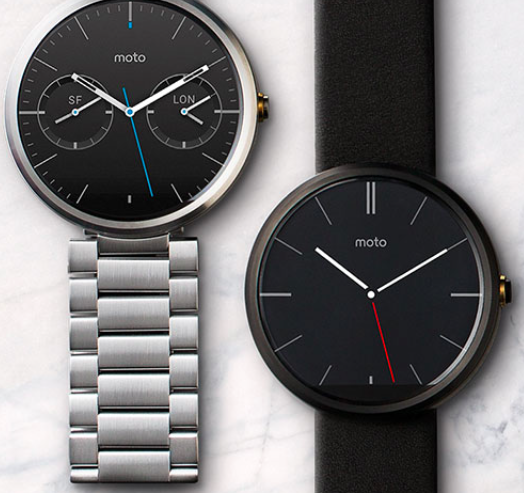Moto 360 Smart Watch - pairs with Android; allows you to make your own custom fashion statement