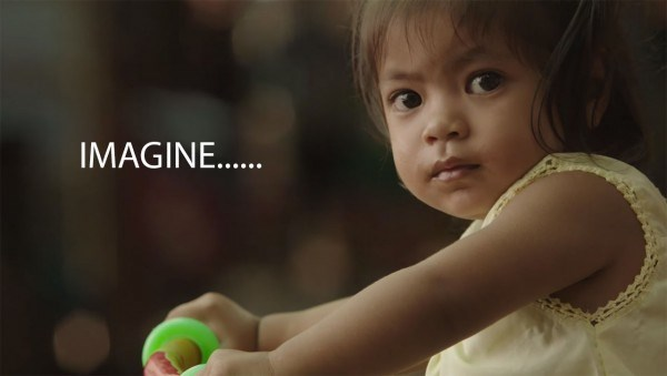 Microsoft asks us to imagine a world with Windows 10 -- but until the hardware arrives, we can only imagine it.  Maybe when this little girl from their commercial is much older.